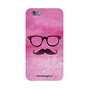 HomeSoGood Dominating Girly Look Pink 3D Mobile Case For iPhone 6S (Back Cover)