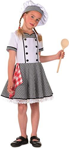 Mädchen Kostüm Weiße Typische - Wilbers & Wilbers Koch Kostüm Kochkostüm Küchenchef Chef Bäcker Chefkoch