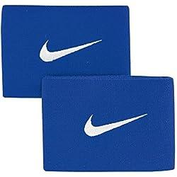 Nike Guard Stay II Espinillera, Unisex Adulto, Azul, Talla Única