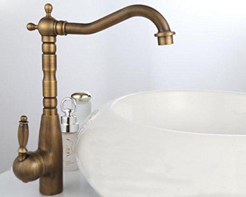 JinRou Contemporanea /moderna cucina creativa rubinetto rame europea rubinetti antico bacino bacino può essere girando chiavi per aprire singolo rubinetto