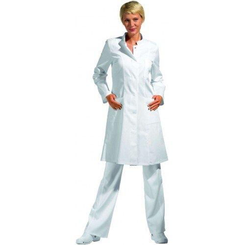 Leiber Mantel 1/1 Arm weiss, Größe: XL