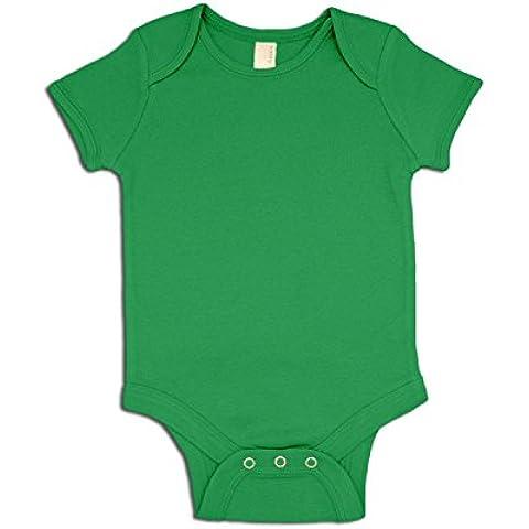 Body y gorro para bebé (en blanco)
