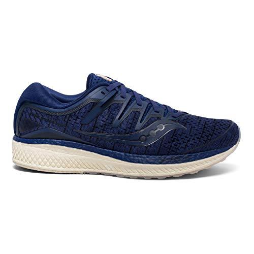 Saucony Men Triumph Iso 5 Neutral Running Shoe Running Shoes Dark Blue - Dark Grey 10