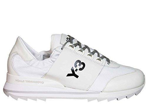 huge discount c30b6 27eee ADIDAS Y-3 YOHJI YAMAMOTO Sneakers Donna Ba7857 Pelle Bianco