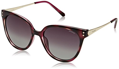 Polaroid Mujer PLD 4047/S 8W R8W Gafas de sol, Rosa (Pinkhvn Gold/Grey Grey Sf Pz), 54