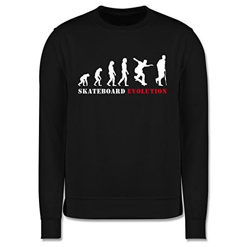 Evolution - Skateboard Evolution - Herren Premium Pullover Schwarz