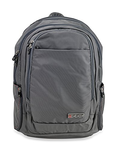 ecbc-javelin-executive-fastpass-daypack-for-17-inch-laptop-tsa-friendly-grey