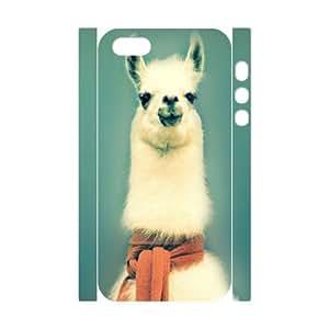 Coque pour Iphone 5/5S-New 3D alpaga, HL-Housse - 515595