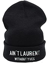 Ain't Laurent Without YVES Beanie