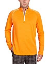PUMA Golf Herren Polo 1/4 Zip Long Sleeve