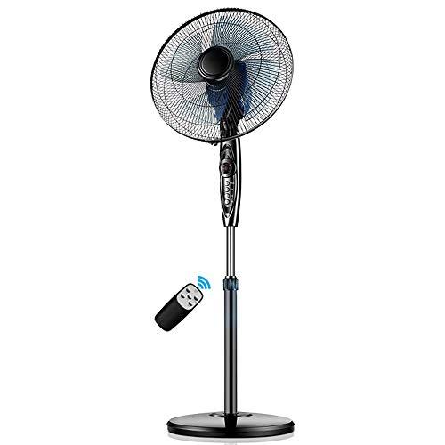YINUO Fans Moderner Haushalts-elektrischer Ventilator-Boden kann Ferngesteuerter Ultra-ruhiger Zeitgebläse Sein Energiesparender Ventilator verwendbar für Haus, Büro, Schlafsaal