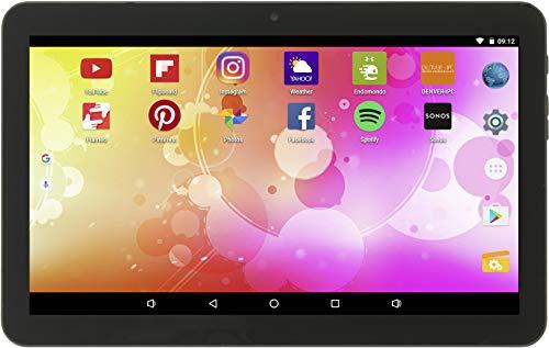Denver Tablet 'TAQ-10403G' ( 25,65 cm (10,1 Zoll) LCD-Display, 16 GB internem Speicher und mit Android 8.1 Go) Schwarz 16 Gb, Lcd