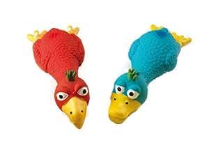 Gor Pets Jouet qui couine en forme de mère poule de dessin animé 30 cm