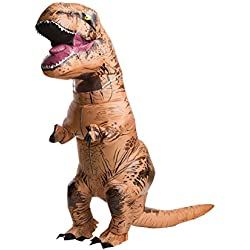 Jurassic World - Disfraz hinchable T-Rex, talla única (Rubie's Spain 810481)