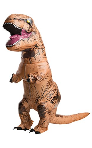 Rubies-officiel-Jurassic-World-Dinosaure-T-Rex-Costume-pour-gonflable