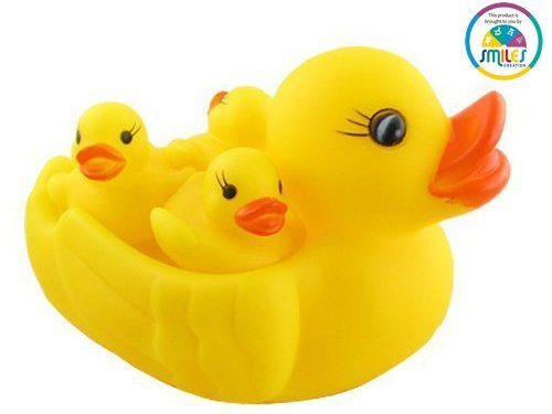 Smiles Creation Ducky Baby Bath Squeeze Toy
