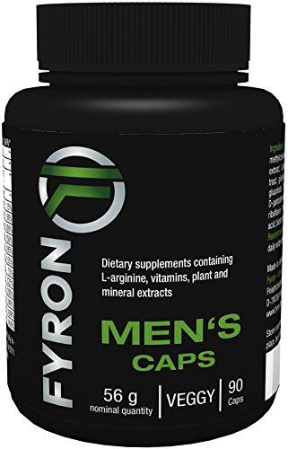 FYRON MENs - Fruchtbarkeit | Testosteronspiegel | Sperma - 90 Kapseln
