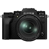 FUJIFILM X-T4 Systemkamera (26,1 Megapixel, X-Trans CMOS 4 Sensor, 7,6 cm (3 Zoll) Touch-LCD) inkl. XF16-80mmF4 R OIS WR Objektiv Kit,schwarz