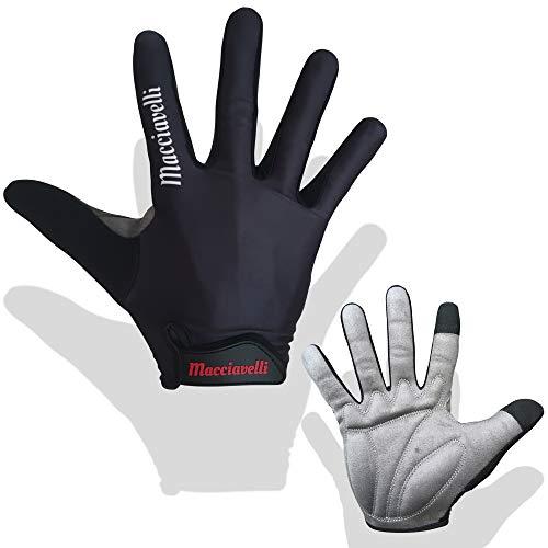 MACCIAVELLI Fahrradhandschuhe für Männer - Radsporthandschuhe als Halbfinger & Vollfinger Variante - Geeignet für Rennrad und Mountainbike - Fahrrad Handschuhe für Männer und Frauen