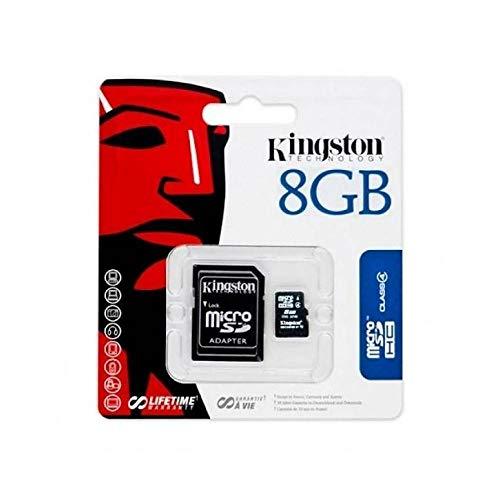 icherkarte, Mikro-SD, für Samsung Galaxy J1/J2/J5/J1Ace/S3/S4/S5/S5mini/S6/S6Edge, 8GB, schwarz ()