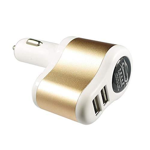 Fahrzeug Auto Position GPS Positionierung Dual USB Auto Ladegerät Tracker Bluetooth Locator Echtzeit-Tracking Parkzeiteinstellung