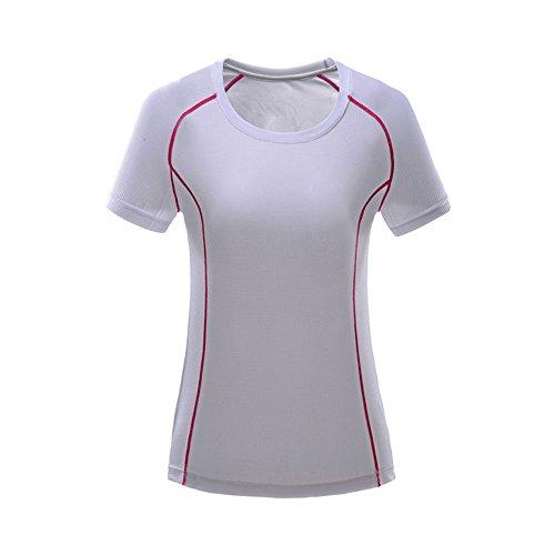 ISEYMI - T-shirt de sport - Femme Blanc