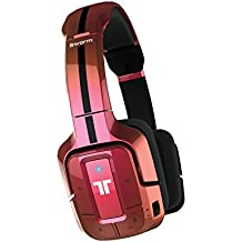 Mad Catz - Auricular Tritton Swarm Bluetooth, Color Rojo Metalizado
