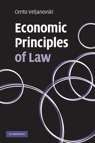 Economic Principles of Law Paperback (Law in Context S.)