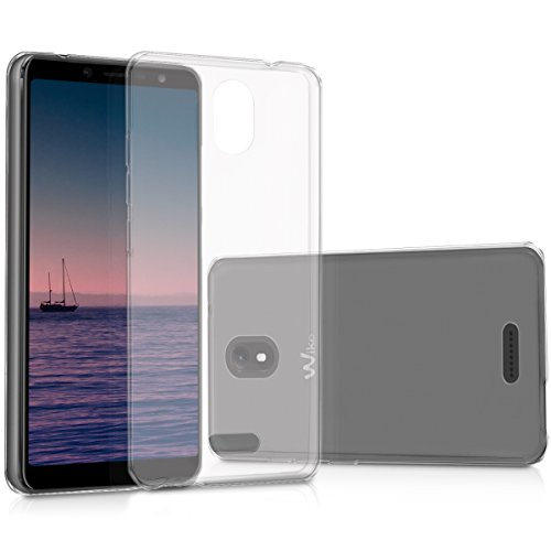 kwmobile Wiko View Go Hülle - Handyhülle für Wiko View Go - Handy Case in Transparent