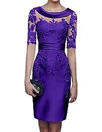 Amazonit Astuccio Violetta Vestiti Donna Abbigliamento