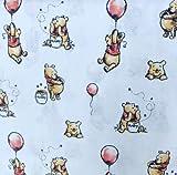 Winnie The Pooh Stoffe - Winnie The Pooh Honigtopf White -