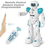 GotechoD Telecomando Robot Giocattolo programmabile Robot RC Regalo per Bambini, Controllo Gesto Intelligente Robot Telecomando Robot, Camminare Cantando Ballando RC Robotica Giocattoli per Bambini