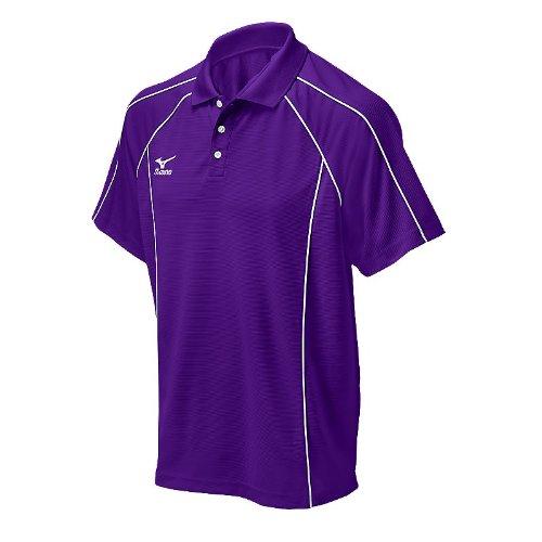 Mizuno G4Textured polo Purple