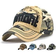 LAOWWO Gorra de béisbol ajustable Hombres Mujeres Unisex Sombrero Army Cap  Mix Patrón Deporte Ciclismo Senderismo 63b12eea5f4