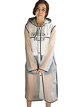 Ducomi - Abrigo impermeable - Gabardina - para mujer