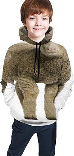 Merino Lamm 4 Monate alt Portrait Tiere Wildlife Schafe Teen Boys Girls Hoodies Sweatshirts Pullover