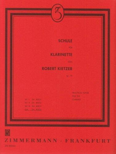 Schule für Klarinette: kplt.. op. 79. Klarinette. (Rote-Schulen)