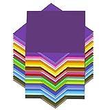Papier Origami,100 feuilles d'origami 15cm*15cm à Double Face pour l'Artisanat et Bricolage...