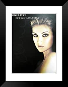 "Celine Dion poster (affiche) new large Lets talk about love approx 36"" x 24"" inch ( 90 x 61 cm )"
