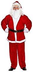 Idea Regalo - Costume Babbo Natale uomo, rosso, XX-LARGE