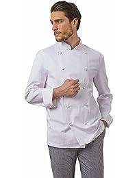 Chaqueta de Chef 100% algodón Blanco SIGGI