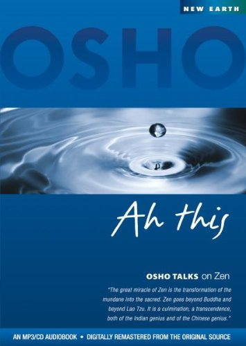 Ah This (Osho Talks on Zen) MP3-Disc - Mp3 Psp