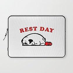 Funda para portatil diseño Día de descanso de CARLINO1 15,6 pulgadas