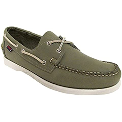 Sebago Docksides Olive Green Boat Shoes US