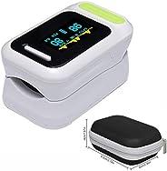 Pulsoxymeter Vingertop, SPO2 Monitor Vingertop Oxygen Monitor Met Kleuren OLED/Audio Alarm / Spo2 Monitor Finger Puls Automa