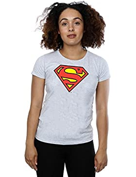 DC Comics Donna Superman Logo Maglietta