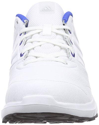Branco Branco ftwr Branco Prata Duramo Mens Tênis Adidas Couro Tem Ftwr Treinador nHwzq0gf