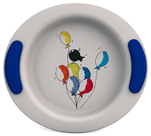 Ornamin 302 Kinderteller tief Ø 25 cm Ballons (blau)