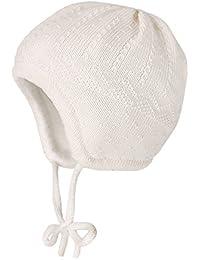 maximo Baby - Mädchen Mütze mit Struktur
