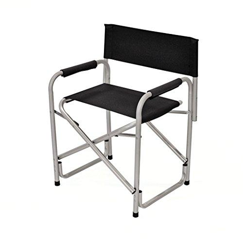 Avec.Ver Chaise pliable de Camping avant. Fauteuil pliant avec accoudoirs. Séance pour Camper. Chaise pliante de plage, plage, montagne, temps libre. Dimensions 61 x 50 x 80 cm